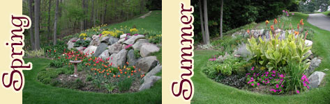 Garden Design in West Michigan and Southeast Michigan